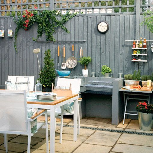 Patios interiores c mo sacarles partido en verano for Cocinas para patios