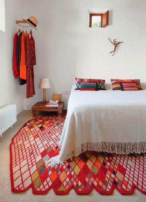 La casa de nani marquina en la isla de ibiza - Nani marquina alfombras ...