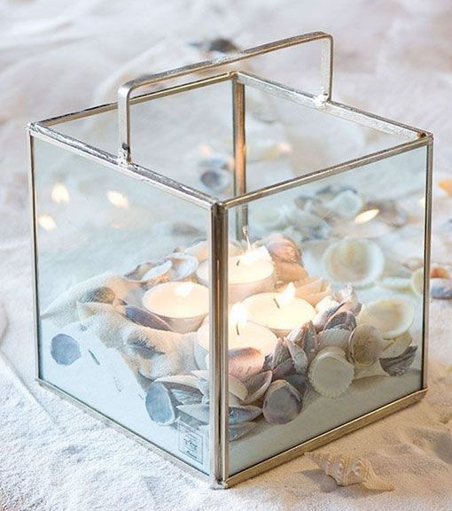 6 ideas para decorar con velas las noches de verano - Decorar jarrones de cristal ...