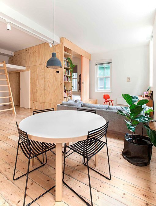 Un piso de 75 metros reformado para incluir un segundo dormitorio - Pisos de una habitacion ...