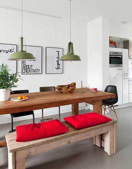 Ideas para crear zonas de comer en la cocina
