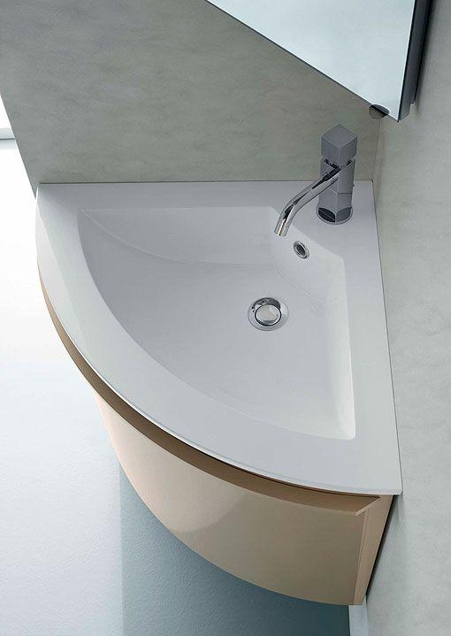 Ba os peque os con ideas y soluciones para sacar partido for Modelos de lavabos roca