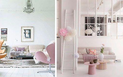 8 salones con toques de color - Colores grises para salones ...