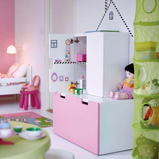 Como Decorar Habitaciones Infantiles En Color Rosa Sin Caer En Lo Cursi - Habitaciones-infantiles-en-blanco