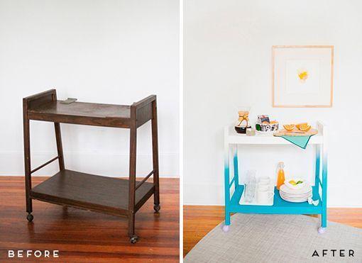 Ideas para restaurar muebles viejos que no necesitan mucho esfuerzo