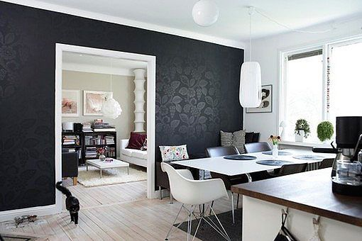 Decorar en negro: 12 ideas para interiores modernos y vanguardistas