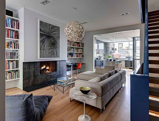 Casa de 4 plantas en nueva york ideal para una familia - Casas en nueva york ...