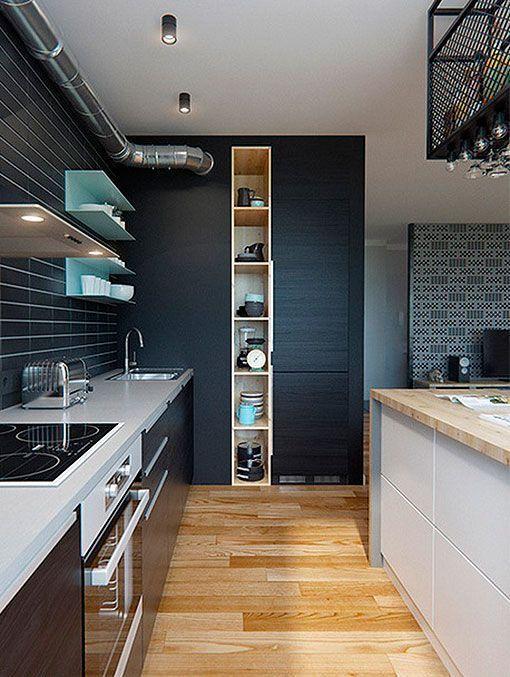 Integrar sal n comedor y cocina en el mismo espacio - Salon comedor cocina mismo espacio ...