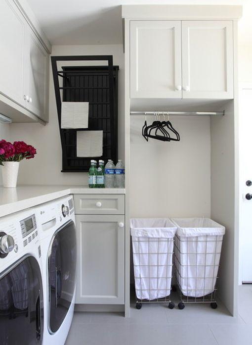 Zonas de lavado y plancha cómodas y funcionales
