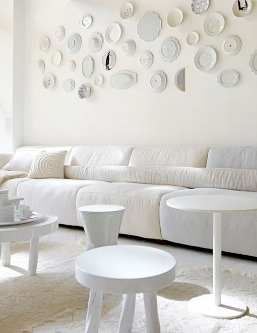 Ideas para decorar paredes con platos
