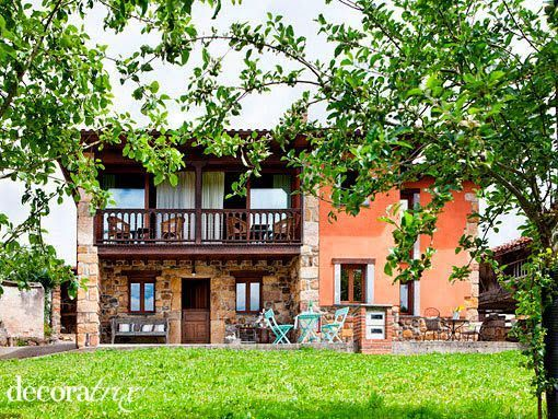 Decoratrix deja Madrid, casa rural en Asturias