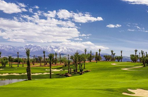 Hotel Royal Palm Marrakech, en Marruecos: campo de golf