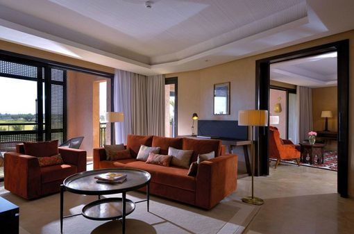 Hotel Royal Palm Marrakech, en Marruecos: suites