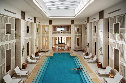 Hotel Royal Palm Marrakech, en Marruecos: spa by Clarins