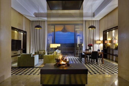 Hotel Royal Palm Marrakech, en Marruecos: suite presidencial