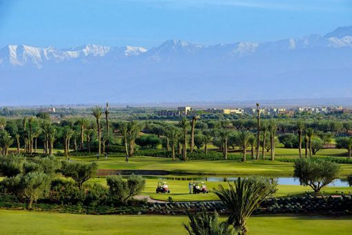 Hotel Royal Palm Marrakech, en Marruecos: vistas