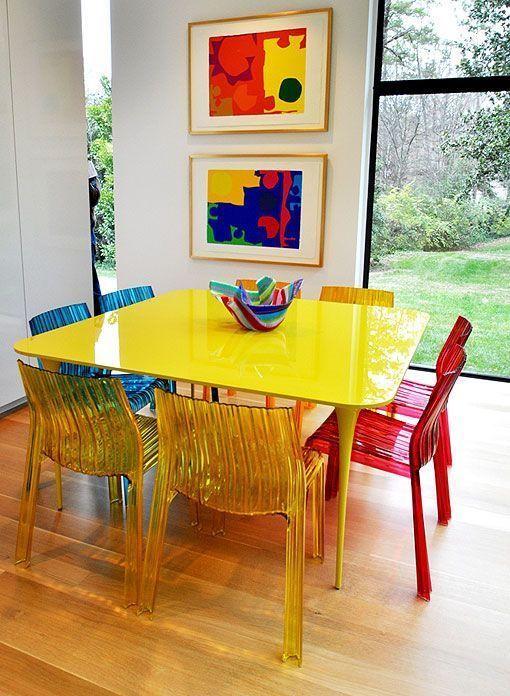 7 sillas de diseño para el comedor: creaciones con nombre propio