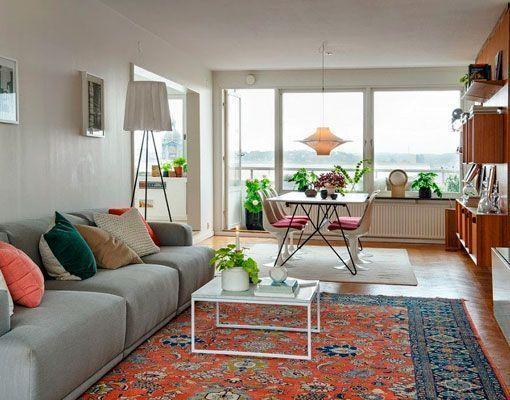 Reforma de un piso de 100 metros cuadrados amplio y luminoso