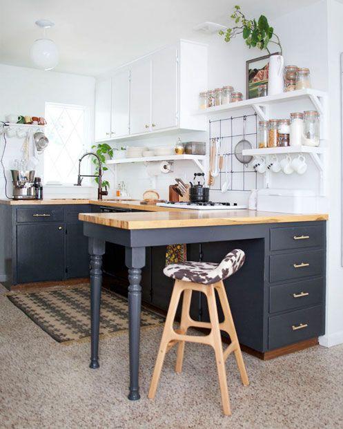 Reformar la cocina sin grandes obras y dejarla como nueva - Cocinas de obra rusticas ...