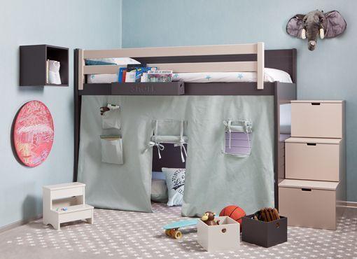 Muebles modulares infantiles y juveniles de colores pastel for Muebles infantiles juveniles