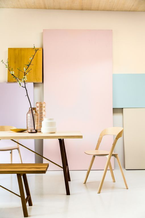 Tendencias de color para las paredes 2015: colores suaves