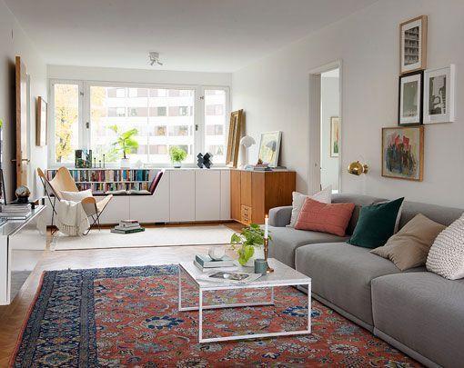 Reforma de un piso de 100 metros cuadrados amplio y luminoso for Decoracion de casas de 7 metros