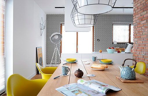 Ideas para decorar una cocina blanca con toques de color