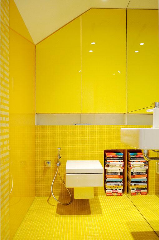 Baños En Colores Vivos: Amarillo