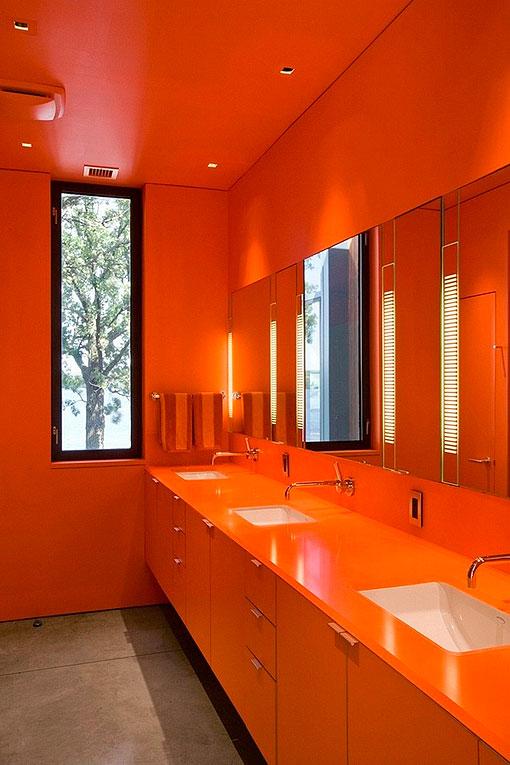9 ba os en colores vivos propuestas modernas y atrevidas - Cocinas con colores vivos ...