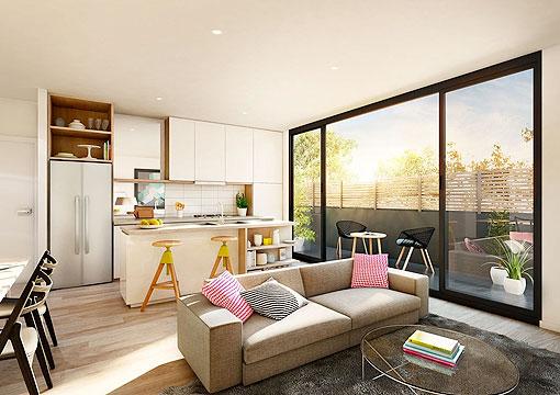 Pisos peque os 10 ideas para aprovechar los metros disponibles - Diseno de interiores pisos pequenos ...