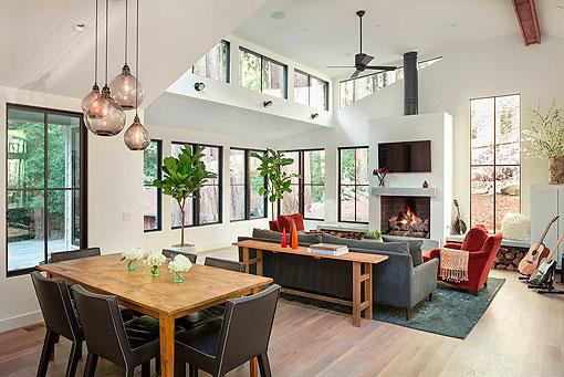 Integrar la cocina en el saln dale un estilo ms moderno a tu casa