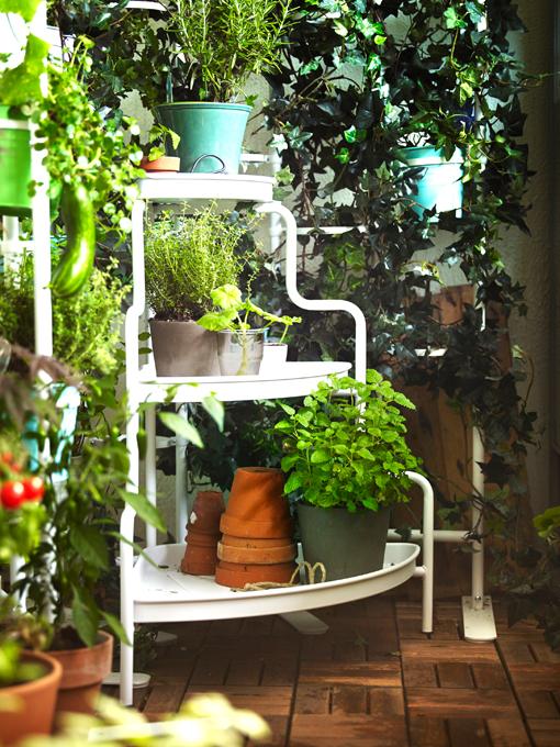Macetas y soportes para tus plantas - Pedestal para plantas ...