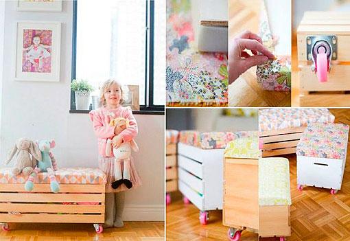 DIY en un trix: crea tus muebles con cajas de madera recicladas