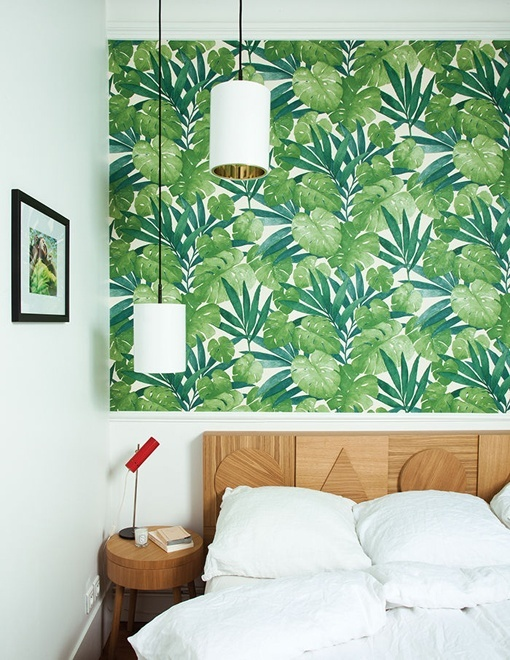 12 ideas para decorar el cabecero de la cama - Decorar papel pintado ...