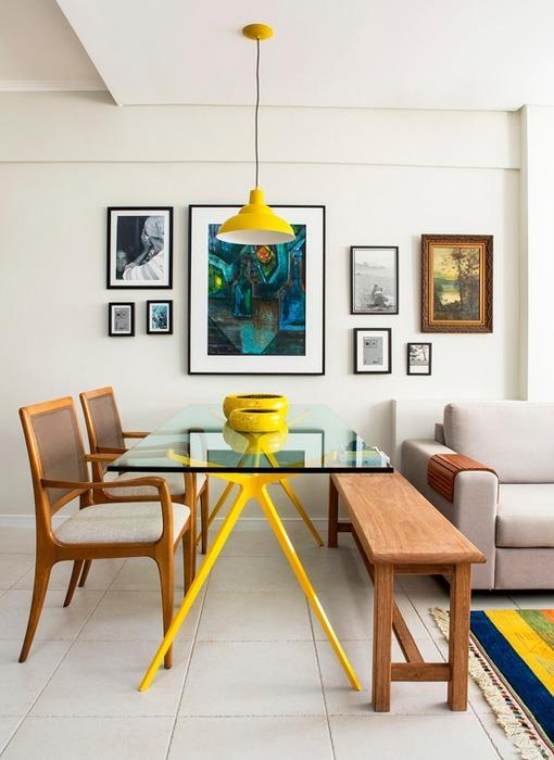 10 ideas para aprovechar el espacio en tu casa for Cocina comedor en poco espacio