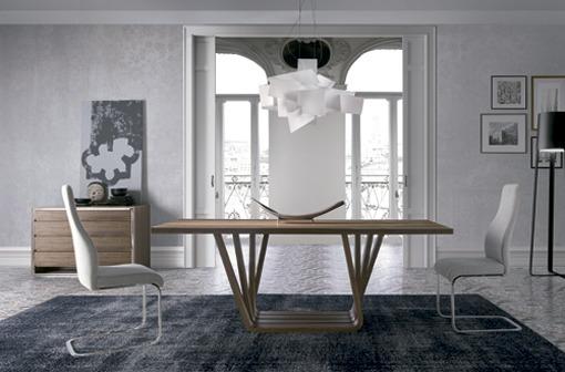 Mesas de comedor de madera for Mesas de comedor de diseno italiano