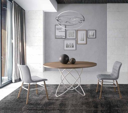 Mesas de comedor de madera - Mesas de comedor redondas de diseno ...