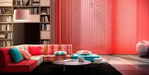 Comprar cortinas persianas y estores online - Cortinas verticales online ...