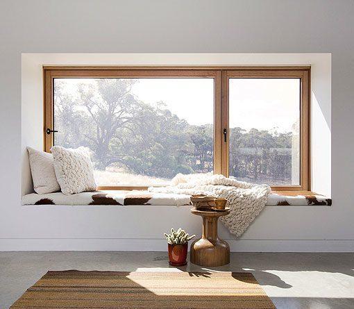 asientos en las ventanas 7 ejemplos de c mo aprovechar este espacio. Black Bedroom Furniture Sets. Home Design Ideas