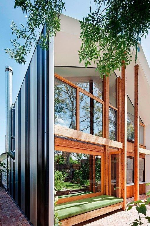 Casa moderna de dos plantas sostenible luminosa y bien - Casas bien decoradas ...