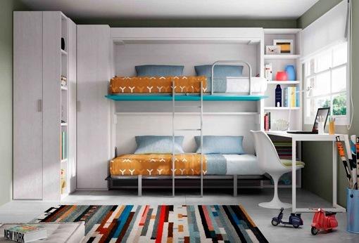 Camas Y Literas Plegables Para Habitaciones Juveniles