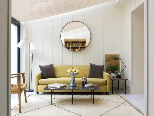 Reforma de una casa de estilo retro moderno - Casas estilo vintage ...