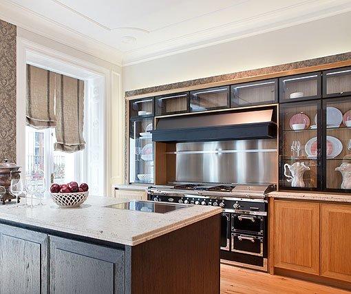 Cocina comedor y sal n un espacio cl sico y a la vez for Ver cocina comedor