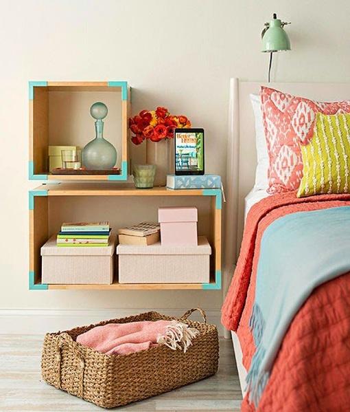 Ideas de mesitas de noche para dormitorios mini - Mesitas de noche recicladas ...