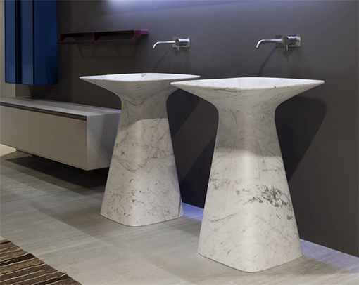 Give your bathroom an elegant touch with a natural stone / antoniolupi sink