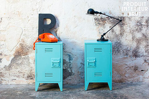 "Muebles vintage de estilo industrial: taquillas ""Billy"""