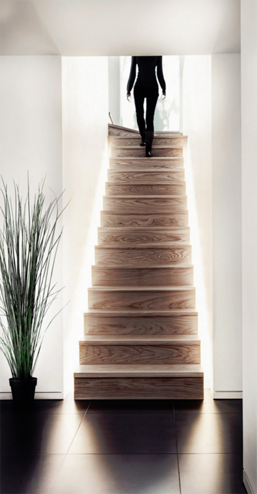 Ideas originales para decorar la escalera - Decoracion bajo escalera ...