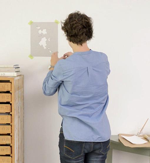 DIY en un trix: plantillas decorativas para pintar la pared