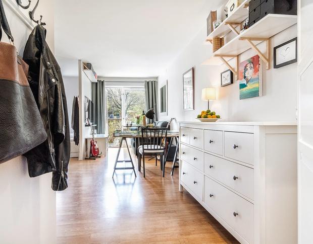 Un apartamento de 30 m2 en un bajo soleado for Diseno de apartamentos de 45 metros cuadrados
