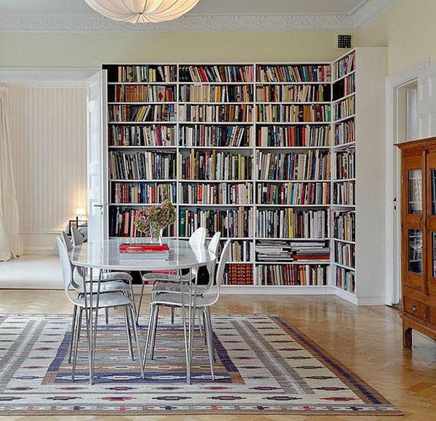 Crear una biblioteca en casa